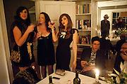 Dinner at Robert and Babette Pereno's. Jermyn St. London.. 4 September 2009.