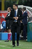 """Andrea Stramaccioni Inter<br /> Milano 30/09/2012 Stadio """"San Siro""""<br /> Football Calcio Serie A 2012/13<br /> Inter v Fiorentina<br /> Foto Insidefoto Paolo Nucci"""