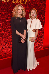 Left to right, Sheikha Melissa Al Fahad and Hannah Selleck at The Cartier Racing Awards 2018 held at The Dorchester, Park Lane, England. 13 November 2018. <br /> <br /> ***For fees please contact us prior to publication***
