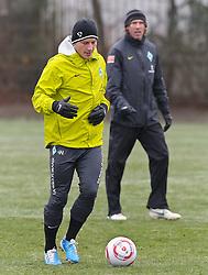 29.11.2010, Trainingsgelaende Werder Bremen, Bremen, GER, 1. FBL, Training Werder Bremen, im Bild Philipp Bargfrede (Bremen #44)   EXPA Pictures © 2010, PhotoCredit: EXPA/ nph/  Frisch       ****** out ouf GER ******