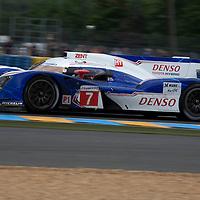 #7 Toyota TS 030 Hybrid, Toyota Racing, Drivers: Wurz/Lapierre/Nakajima, Class: LMP1, Le Mans 24H, 2012