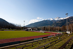 08.04.2010, Lienz, Osttirol, AUT, on Picture Feature from Dolomitenstadium, where the Nationalteam of Cameroon make the prepaparation for Worldcup in Southafrica, EXPA Pictures © 2010, PhotoCredit: EXPA/ J. Feichter / SPORTIDA PHOTO AGENCY