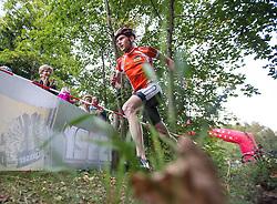 16.08.2013, Tristach, AUT, ECCO Benetton Sprint 2013, im Bild 2. plazierte Mountainbiker von Bikeerlebnis Osttirol auf dem Weg zur Übergabe. EXPA Pictures © 2013, PhotoCredit: EXPA/ Johann Groder