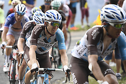 July 8, 2017 - Station Des Rousses, FRANCE - Belgian Jan Bakelants of AG2R La Mondiale pictured in action during the eighth stage of the 104th edition of the Tour de France cycling race, 187,5km from Dole to Station des Rousses, France, Saturday 08 July 2017. This year's Tour de France takes place from July first to July 23rd...BELGA PHOTO YORICK JANSENS (Credit Image: © Yorick Jansens/Belga via ZUMA Press)