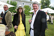 KIERA MORGAN AND CHARLES MORGAN Cartier Style et Luxe lunch. Goodwood.  24 June 2007.  -DO NOT ARCHIVE-© Copyright Photograph by Dafydd Jones. 248 Clapham Rd. London SW9 0PZ. Tel 0207 820 0771. www.dafjones.com.