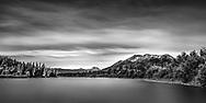 Long exposure panorama along Dease River to Mount Pendleton