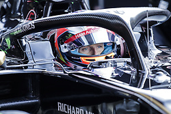 March 1, 2019 - Barcelona, Barcelona, Spain - Romain Grosjean from France with 08 Rich Energy Haas F1 Team portrait during the Formula 1 2019 Pre-Season Tests at Circuit de Barcelona - Catalunya in Montmelo, Spain on March 1. (Credit Image: © Xavier Bonilla/NurPhoto via ZUMA Press)