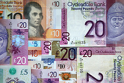 Scottish bank notes.