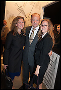 CRISTINA FREYBERG, GUY GOODFELLOW, The preview of LAPADA Art and Antiques Fair. Berkeley Sq. London. 23 September 2014.