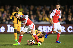 20 February 2017 - The FA Cup - (5th Round) - Sutton United v Arsenal -- Photo: Marc Atkins / Offside.