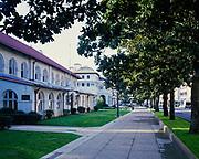 Hale and Maurice Bathhouses, Bathhouse Row, Central Avenue, Hot Springs National Park, Hot Springs, Arkansas.