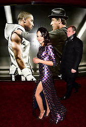 Tessa Thompson attending the European premiere of Creed held at the Empire Cinema in Leicester Square, London. PRESS ASSOCIATION Photo. Picture date: Tuesday January 12, 2016. Photo credit should read: Ian West/PA Wire