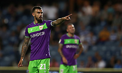 """Bristol City's Marlon Pack during the Sky Bet Championship match at Loftus Road, London. PRESS ASSOCIATION Photo. Picture date: Tuesday August 21, 2018. See PA story SOCCER QPR. Photo credit should read: John Walton/PA Wire. RESTRICTIONS: EDITORIAL USE ONLY No use with unauthorised audio, video, data, fixture lists, club/league logos or """"live"""" services. Online in-match use limited to 120 images, no video emulation. No use in betting, games or single club/league/player publications."""
