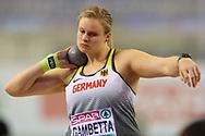 Sara Gambetta (Germany), Women's Shot Put, during the European Athletics Indoor Championships at Emirates Arena, Glasgow, United Kingdom on 3 March 2019.