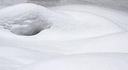 Lapland, Scandinavia, a landscape of snow