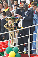 Photo: Steve Bond/Richard Lane Photography.<br />Ghana v Guinea. Africa Cup of Nations. 20/01/2008. President Kuffour welcoming speech