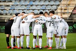 during football match between Nafta 1903 and Olimpija in quarterfinal round of Pokal Pivovarna Union 2020/21, on 28 ofApril, 2021 in Sportni Park, Lendava, Slovenia. Photo by Blaž Weindorfer / Sportida