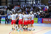 Illustration groupe Ajaccio - 04.12.2014 - Ajaccio / Izmir - 1/8finale Cev Cup<br />Photo : Jean Pierre Belzit / Icon Sport