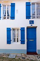 France, Vendée (85), Noirmoutier, Noirmoutier-en-l'Ile, quartier Banzeau // France, Vendée, Noirmoutier, Noirmoutier-en-l'Ile