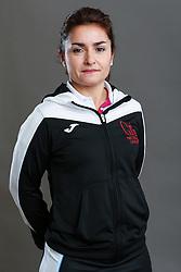 Umpire Nadine Pardo Zammit