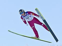 05.02.2011, Heini Klopfer Skiflugschanze, Oberstdorf, GER, FIS World Cup, Ski Jumping, Probedurchgang, im Bild Jernej Damjan (SOL) , during ski jump at the ski jumping world cup Trail round in Oberstdorf, Germany on 05/02/2011, EXPA Pictures © 2011, PhotoCredit: EXPA/ P. Rinderer
