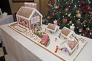 27/11/2014 Repro freeThe wonder of Christmas!  Hotel Meyrick's stunning creation of a traditional Gingerbread train station and set which is on display in the parlour lounge until Christmas Eve when it will be donated to the St Bernadette's children's ward at University College hospital Galway, www.hotelmeyrick.ie. <br />  . Photo:Andrew Downes