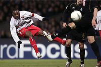 FOOTBALL - CHAMPIONS LEAGUE 2004/2005 - 1/8 FINAL - 2ND LEG - OLYMPIQUE LYONNAIS v WERDER BREMEN - 08/03/2005 - SIDNEY GOVOU (LYON) -  PHOTO GUY JEFFROY /Digitalsport<br />  *** Local Caption *** 40001561
