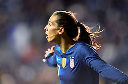 February 27, 2019 - Chester, PA, U.S. - CHESTER, PA - FEBRUARY 27: US Forward Tobin Heath (17) reacts to a missed scoring opportunity in the first half during the She Believes Cup game between Japan and the United States on February 27, 2019 at Talen Energy Stadium in Chester, PA. (Photo by Kyle Ross/Icon Sportswire) (Credit Image: © Kyle Ross/Icon SMI via ZUMA Press)