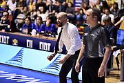 Buscaglia Maurizio<br /> FIAT Torino - Dolomiti Energia Trentino<br /> Lega Basket Serie A 2017-2018<br /> Torino 29/04/2018<br /> Foto M.Matta/Ciamillo & Castoria