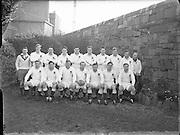 Rugby - Ireland vs England International at Landsdowne Road, Dublin<br /> English Team<br /> 14/02/1955