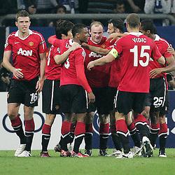 20110426: GER, UEFA Champions League, Semifinals, Schalke 04 vs Manchester United