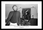 Brian Jones and Keith Richards of The Rolling Stones at Dublin Airport<br /> 3rd September 1965