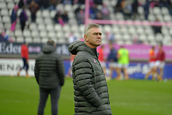 January 5, 2019 - Paris, France - Coach of Stade Francais HEYNEKE MEYER in action during the French rugby Championship Top 14 match between Stade Francais and  Perpignan  at Jean Bouin Stadium in Paris - France..Stade Franais won 27-8 (Credit Image: © Pierre Stevenin/ZUMA Wire)