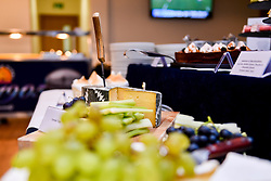 General views of Hospitality in the Estuary Suite prior to kick off - Mandatory by-line: Ryan Hiscott/JMP - 21/09/2019 - RUGBY - Sandy Park - Exeter, England - Exeter Chiefs v Bath Rugby - Premiership Rugby Cup