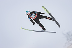 10.12.2020, Planica Nordic Centre, Ratece, SLO, FIS Skiflug Weltmeisterschaft, Planica, Einzelbewerb, Qualifikation, im Bild Michael Hayboeck (AUT) // Michael Hayboeck of Austria during the qualification for the men individual competition of FIS Ski Flying World Championship at the Planica Nordic Centre in Ratece, Slovenia on 2020/12/10. EXPA Pictures © 2020, PhotoCredit: EXPA/ JFK