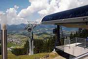 Austria, Upper Austria, Abtenau in the Dachstein Mountains. On the top of the mountain
