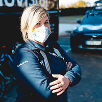 Lide Larrañaga. 2021 Movistar Team Training Camp, Almería. 15.1.2021.