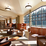 The Library at Father River College, Quincy CA