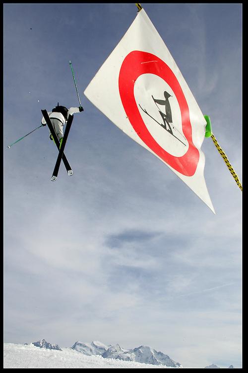 Rider: Seb Michaud.Location:Verbier (Switzerland).P.I.M.P Show 2005