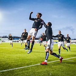 Falkirk 1 v 1 Hibernian, Scottish Championship 17/1/2015.