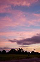 Pastel Sky at Dawn. 6 of 13 Images taken with a Leica X2 camera and 24 mm f/2.8 lens (ISO 125, 24 mm, f/2.8, 1/30 sec). Raw images processed with Capture One Pro and the panorama generated using AutoPano Giga Pro.