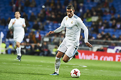 January 10, 2018 - Madrid, Madrid, Spain - Theo Hernandez (defender; Real Madrid) during Copa del Rey match between Real Madrid and Numancia, Round 8 match, at Santiago Bernabeu on January 10, 2018 in Madrid (Credit Image: © Jack Abuin via ZUMA Wire)