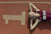 Lauren Sapone Red Bank Regional is the state cross country runner of the week. / Russ DeSantis/For The Star Ledger
