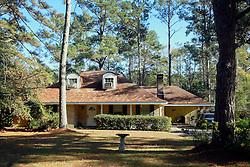 31 December 2014. Mandeville, Louisiana. <br /> The modest home of David Duke, the former Louisiana state representative and Ku Klux Klan leader. <br /> Photo; Charlie Varley/varleypix.com
