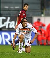 (foto:Gino Mancini) Cagliari 6.Gennaio.2010  Campionato di serie A 18° giornata d'andata : Cagliari-Roma              TONI