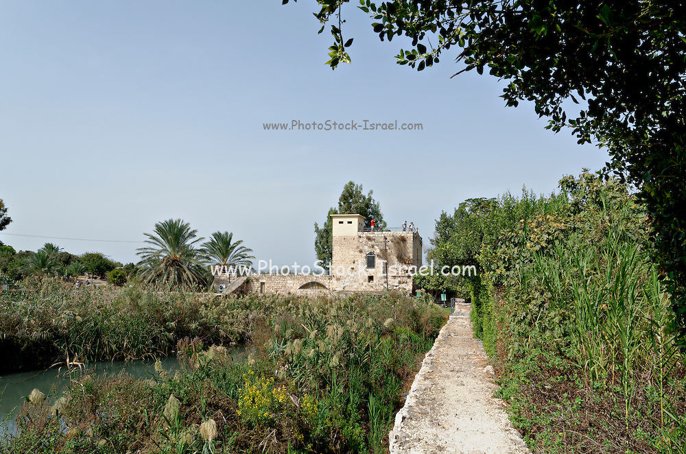 Israel, Northern District Ein Afek Nature Reserve on the Naaman River The Crusader mill station