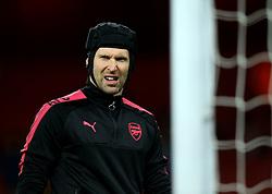 Petr Cech of Arsenal - Mandatory by-line: Robbie Stephenson/JMP - 15/03/2018 - FOOTBALL - Emirates Stadium - London, England - Arsenal v AC Milan - UEFA Europa League Round of 16, Second leg
