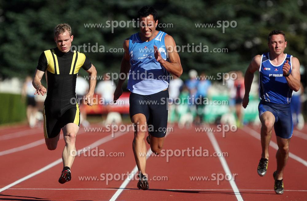 Matic Molicnik, Marko Bratoz and Jurij Demsar at Athletic National Championship of Slovenia, on July 19, 2008, in Stadium Poljane, Maribor, Slovenia. (Photo by Vid Ponikvar / Sportal Images).