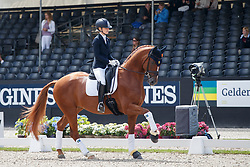 Lundholm Ida-Linn, SWE, Dragon Welt 1303<br /> Longines FEI/WBFSH World Breeding Dressage Championships for Young Horses - Ermelo 2017<br /> © Hippo Foto - Dirk Caremans<br /> 05/08/2017