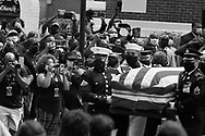 The late U.S. Congressman John Lewis, a pioneer of the civil rights movement and long-time member of the U.S. House of Representatives who died July 17, travels in a procession from Brown Chapel A.M.E. Church to the Edmund Pettus Bridge in Selma, Alabama, U.S. July 26, 2020., Christopher Aluka Berry